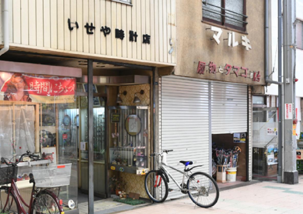 現在の岡町・桜塚商店街